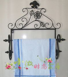 Fashion Wrought Iron Furniture Wrought Iron Towel Rack Wrought Iron Wall  Mount Towel Rack Towel Hanging. Bathroom ...