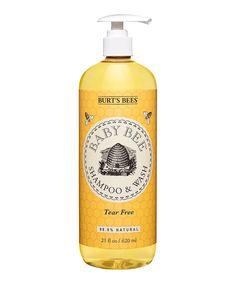 Loving this Tear-Free Baby Bee Shampoo & Wash on #zulily! #zulilyfinds