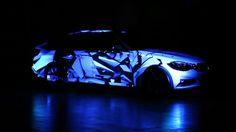 BMW /// VideoMapping sur voiture