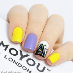 Пластина для стемпинга MoYou London Mandala 01 - купить с доставкой по Москве, CПб и всей России.