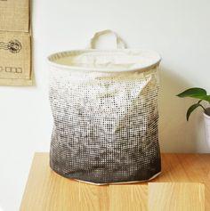 12.96 c Pas cher Noir et blanc minimaliste panier de rangement pour jouets et vêtements sales, Acheter  Paniers de stockage de qualité directement des fournisseurs de Chine: