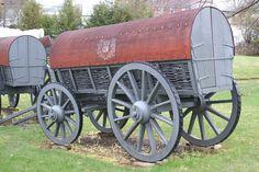 Reproduction 18th century british army wagon