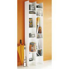 Colonna libreria bianca in legno H 192 cm | Maisons du Monde
