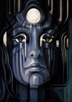 Psicomemorie DM01 - 2010 - © Daniele Del Rosso - #art #artist #painting #contemporaryart #visualarts #psicomemorie #illustration #surrealismart #surrealism #digitalart #danieledelrosso #blue