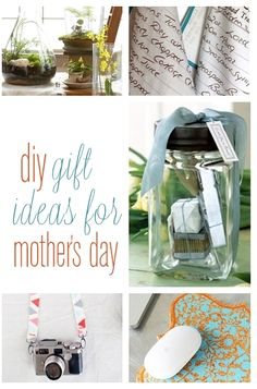 diy gift ideas for mothers day