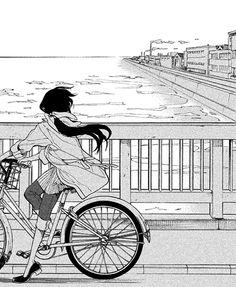 What manga is this? Manga Girl, Aesthetic Art, Aesthetic Anime, Background Drawing, Manga Illustration, Dark Anime, Anime Scenery, Manga Drawing, Kawaii Anime