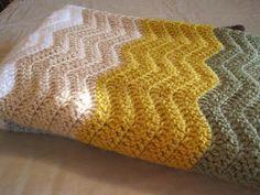 Sweet Bee Buzzings: FINALLY--Baby Blanket Reveal