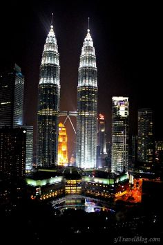 What you see from the SkyBar in Kuala Lumpur http://www.ytravelblog.com/skybar-kuala-lumpur/