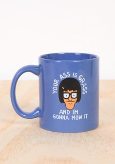 BOB'S BURGERS Your Ass Is Grass Tina Belcher Mug
