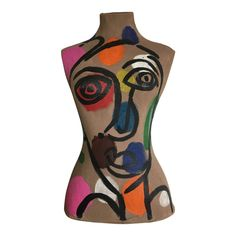 Peter Keil is a German artist that focuses primarily on abstract expressionism. Keil painted with some of the greats including, Joan Miró, Andy War. Sculpture Art, Sculptures, Mannequin Art, Abstract Faces, Canvas Paper, Andy Warhol, Moving Forward, Abstract Expressionism, Amazing Art