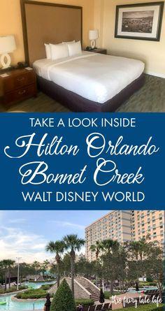 (AD) Hilton Orlando Bonnet Creek - Hotel Review #HiltonStory #HiltonBonnetCreek #HBCFoodie