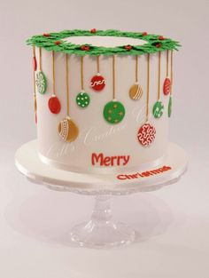 62 Awesome Christmas Cake Dekorieren von Ideen und Designs – Wedding Cakes With Cupcakes Christmas Wedding Cakes, Christmas Cake Designs, Christmas Cake Decorations, Christmas Cupcakes, Christmas Sweets, Holiday Cakes, Christmas Cooking, Noel Christmas, Christmas Goodies
