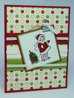 Greeting Card Kids Christmas | Escape2stamp