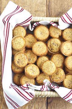 Pecan Coconut Muffins via DeliciouslyOrganic.net