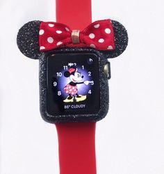 Silicone gold glitter Apple Watch case | eBay! #BlackGlitter