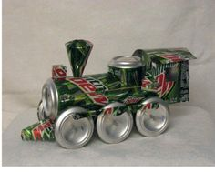 The art of up cycling home craft projects ideas be for Aluminum can crafts patterns