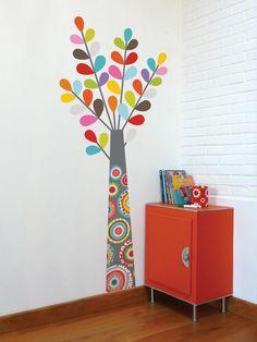 Ventana integrados Palm Beach Pegatinas de pared mural vinilo Calcomanía decoración para Garaje Sótano