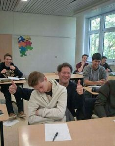 Student Falls Asleep In Class, So Teacher Takes A Photo With Him