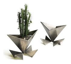 The Venus Planter.  Shown in cast aluminum.  Custom sizes and finishes available.  www.ashercole.com