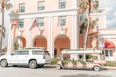 The Colony Hotel is famous for its pink facade! Colony Hotel Palm Beach, The Colony Hotel, West Palm Beach Florida, Florida Beaches, Breakers Hotel, Life In Paradise, Palm Wallpaper, Remodels And Restorations, Florida Travel