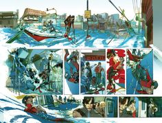 another fantastic GREG TOCCHINI page (double page spread i believe)!