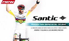 ¡Ya tenemos disponible la mejor marca de equipaciónes para el ciclista relación calidad precio! Visítanos ---> http://www.deporprecio.com/83_santic