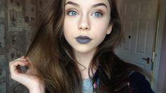Grey lipstick Grey Lipstick, Septum Ring, Image