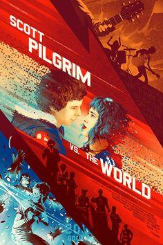 Scott Pilgrim vs. The World by Kevin Tong *