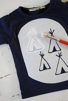Sjabloon DIY Tipi shirt