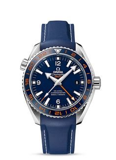 Omega Seamaster Planet Ocean GMT Watch #men #watches