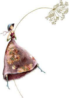 feminine mystique ॐ Art Carte, Creation Art, Whimsical Art, Beautiful Paintings, Love Art, Cute Drawings, Female Art, Watercolor Art, Art For Kids