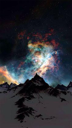 Colores en la montaña