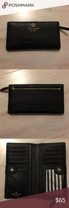 Kate Spade Wallet Amazing shape. No signs of wear. Maybe carried for a week? kate spade Bags Wallets