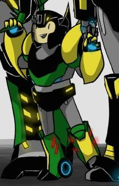 """Read Parte Bienvenida"""" from the story """"Grimbee Historia de amor"""" Temporada 2 by Donatela_Ninja with 168 reads. Transformers Funny, Transformers Autobots, Transformers Bumblebee, Cartoon Ships, Cartoon Art, Wolf With Red Eyes, Rescue Bots, Attack On Titan Funny, Clear Card"""