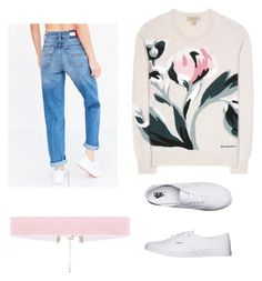 """""""Autumn of '91"""" by explorer-14822916479 on Polyvore featuring Burberry, Tommy Hilfiger and Vans"""