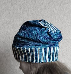 e8abc4ad9084 Ravelry  Knit-Only Slouch Hat pattern by Sybil R Knitting Patterns Free