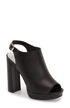 48e116fa6abbf Jeffrey Campbell  Payola  Platform Sandal (Women) available at  Nordstrom  Black Leather