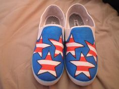 stars and stripes shoes