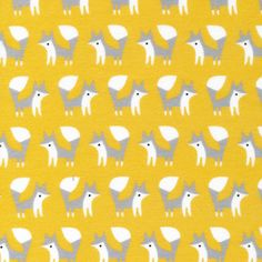 Made by Rae - Fanfare - Foxes in Gold for an outfit or boppy cover?