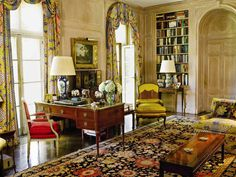 Brooke Astor's library, Holly Hill