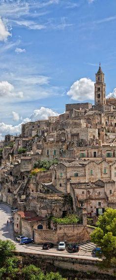 Matera, Basilicata, Italy. Truly stunning.