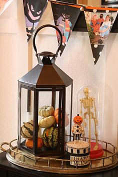 Fantastic Halloween Decor, affordable when found at your local #Goodwill