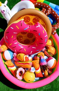 Check Out Our Backyard aka Rooftop Deck Summer Bash! It's a colorful pool floatie fiesta! Summer Bash, Summer Pool, Hello Summer, Summer Fun, Toddler Floaties, Cute Pool Floats, Mini Pool, Rooftop Deck, Pool Toys