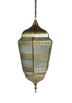 brass antique metal lantern