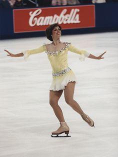 Dorothy Hamill won gold in 1976 in Innsbruck.