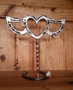 Hey, I found this really awesome Etsy listing at https://www.etsy.com/listing/247207465/horseshoe-jewelry-holder-heart-with