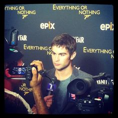 Chace Crawford s favorite Bond: Sean Connery. (I respectfully disagree, Chace) #vfagenda
