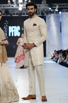 "Pakistani men's fashion SaniaMaskatiya ""August Dream"" Showcased at #PLBW2016 Day 1 #plbw16"