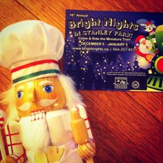 Looking for something fun to do this #winter? #CookingNutcracker suggests riding the @BrightNightsVan train! Running daily from Dec 5 - Jan 5! #holidaycheer #christmas