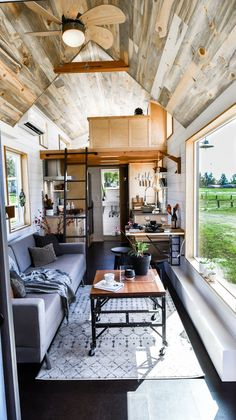 28ft Urban Payette Tiny Home with Bump Out 0016